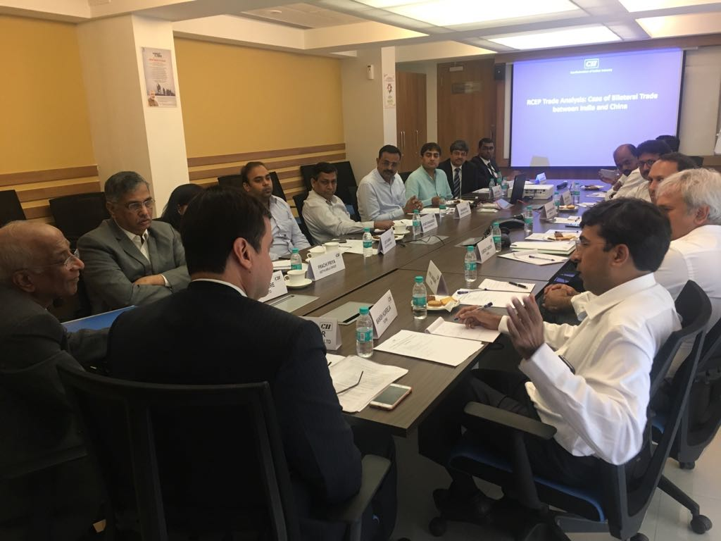 Meeting in CII