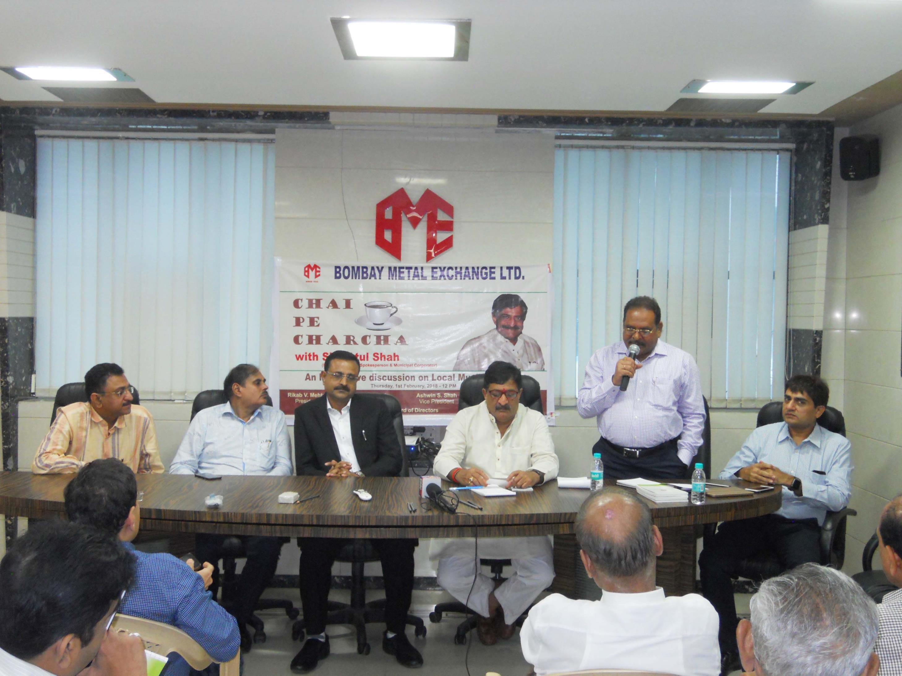Live Budget Telecast & Chai pe Charcha with Shri Atul Shah